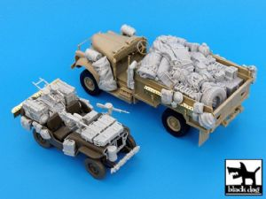 T35016 British SAS Jeep & Chevrolet north Africa 1942